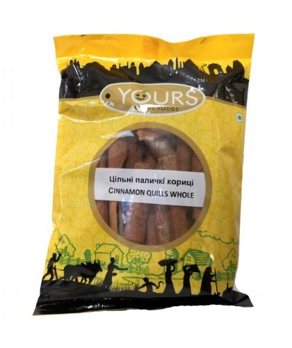 Индийская корица, цельные палочки (Cinnamon Quills Whole, Yours Ethnic Foods) 100 гр - 1