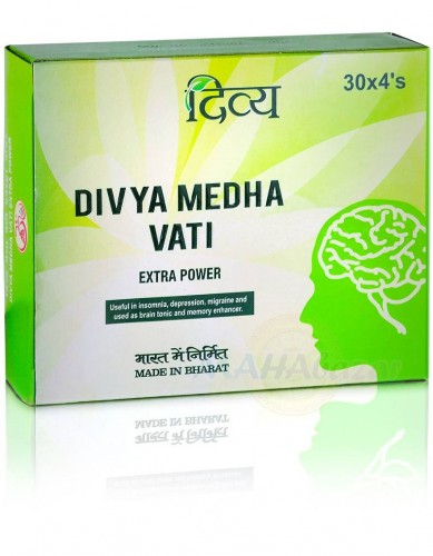 Медха Вати, Патанжали (Divya Medha Vati, Patanjali) 120 таб - 1