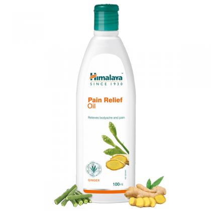 Болеутоляющее масло Пэйн Релиф, Хималая, (Pain Relief Oil,Himalaya) 100 мл - 1