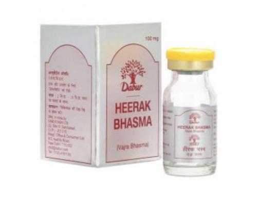 Хирак Бхашма, алмазная зола, Дабур (Heerak Bhashma, Dabur) 100 мг. - 1