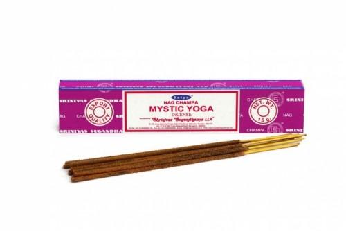 Благовония Мистическая Йога Сатья (Mystic Yoga, Satya) 15 грамм - 1