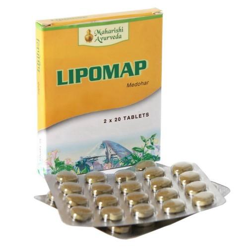 Липомап блистер, Махариши Аюрведа (Lipomap, Maharishi Ayurveda) 20 таб - 1