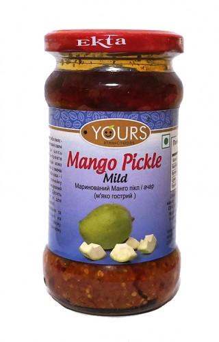 Пикли маринованный манго мягко-острый (Yours Ethnic Foods) 323гр - 1