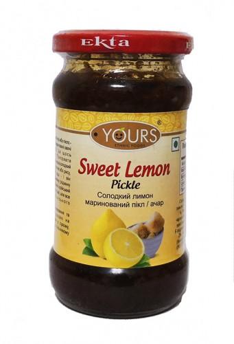Пикли сладкий лимон (Yours Ethnic Foods) 323г - 1