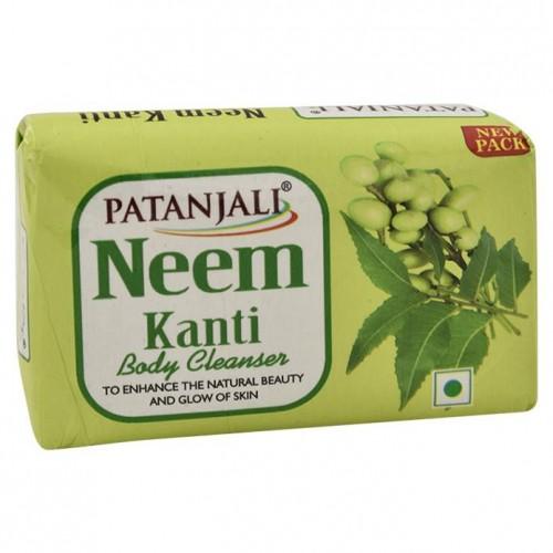 Мыло KANTI антибактериальное с нимом (Patanjali), 100 грамм - 1