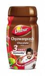 Чаванпраш детский со вкусом шоколада, Дабур (Chyawanprash Chocolate, Dabur) 500 гр