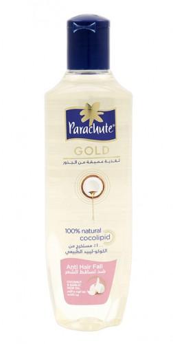 Масло для волос Парашют Голд с Экстрактом чеснока (Parachute Golg, Marico), 200 мл - 1