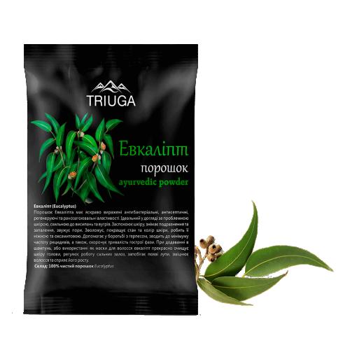 Эвкалипт порошок, Триюга (Eucalyptus powder, Triuga) 50 грамм - 2