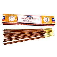 Благовония Духовная Аура Сатья (Spiritual Aura, Satya) 15 грамм - 1
