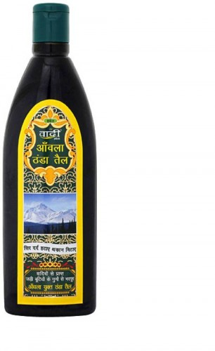 Масло для волос и тела Амла и Брахми, Ваади (Amla cool oil with Brahmi Extract, Vaadi) 200 мл - 1