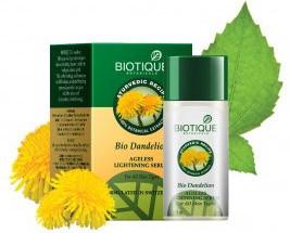 Био Одуванчик, Биотик (Bio Dandelion AGELESS LIGHTENING SERUM, Biotique), 35 мл - 1