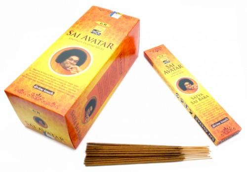 Благовония Sandesh Sai Avatar 15 палочек в пачке 15 грамм - 1