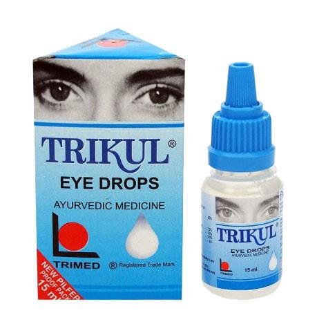 Трикул капли для глаз, Траймед (Trikul Eye Drops, Trimed) 15 мл - 1