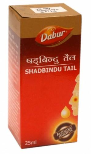 Шадбинду масло, Дабур (Shadbindu oil, Dabur) 25 мл - 1