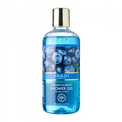 Гель для душа Полуночная Черника, Ваади (Midnight Blueberry Shower Gel, Vaadi) 300 мл - 1