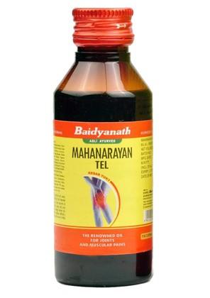 Масло Маханараян, Байдьянтах (Mahanarayana tail, Baidyanath) 50 мл - 1