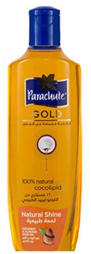 Масло для волос Парашют Голд с Миндалем (Parachute Golg, Marico), 300 мл - 1