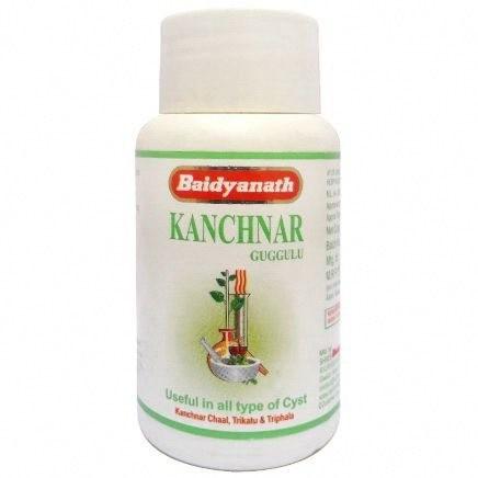Канчнар гуггул, Байдьянатх (Kanchnar guggul, Baidyanath) 80 табл. - 1