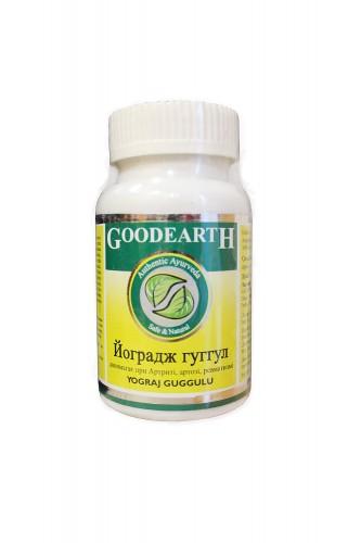 Йогарадж Гуггул, Гудкер Фарма (Yogaraj Guggulu, Goodcare Pharma) 60 кап. - 1