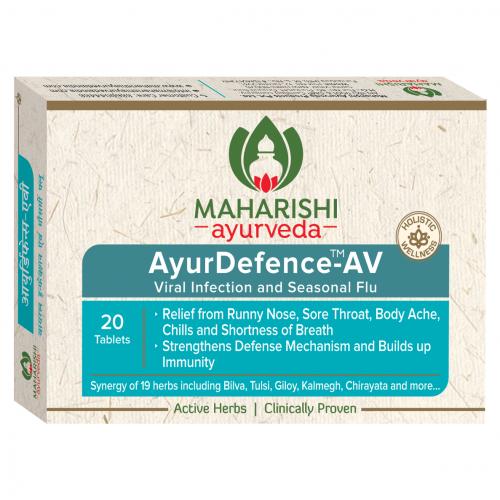 АюрДефенс, Махариши Аюрведа - от вирусных инфекций и сезонного гриппа (AyurDefence-AV, Maharishi Ayurveda) 20 таб - 1