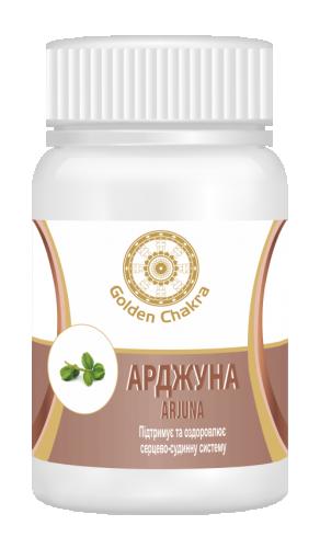 Арджуна экстракт, Голден чакра (Arjun tablet, Golden Chakra) 60 таб - 1