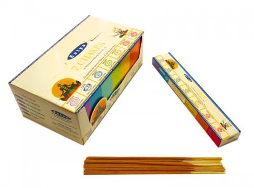 Благовония Premium 7 Chakra (Satya) 15 грамм - 1