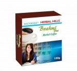 Кофе Брами Плюс, Хербал Хилс (Brahmi Рlus Сoffee, Brain tonic Herbal Hills) 100 гр