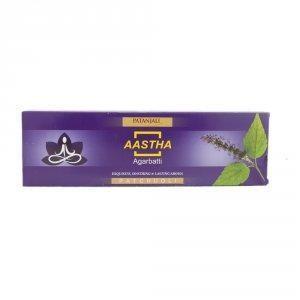 Благовония с ароматом Пачули Патанджали (Aastha Agarbatti, Patanjali) 20гр - 1
