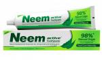 Зубная паста Ним Актив Джйоти Лаб + зуб/щетка (Neem Active toothpaste, Jyothy Laboratories ltd), 200 гр