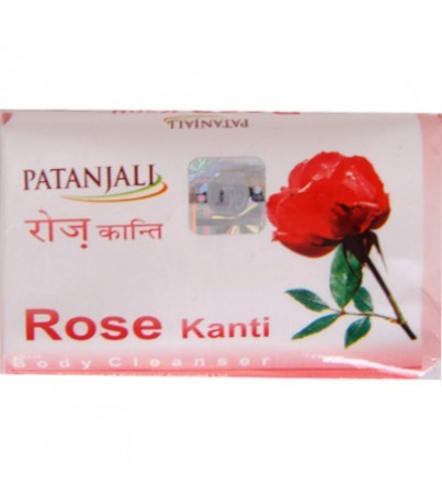 Мыло KANTI роза (Patanjali), 75 гр - 1