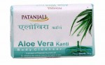 Мыло увлажняющее KANTI с алоевера (Patanjali), 150 гр