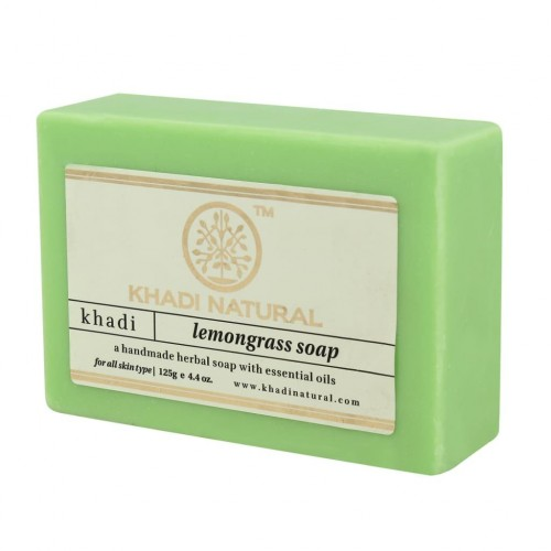 Мыло Лемонграсс, Кхади (Lemongrrass Soap, Khadi) 125 гр - 1