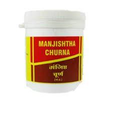 Манжишта чурна, Вьяс Фармацептик (Manjishtha churna, Vyas Pharmaceuticals) 100 гр - 1