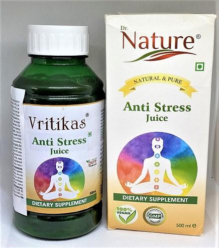Сок Антистресс, Вритикас (AntiStress Juice, Vritikas) 500 мл. - 1