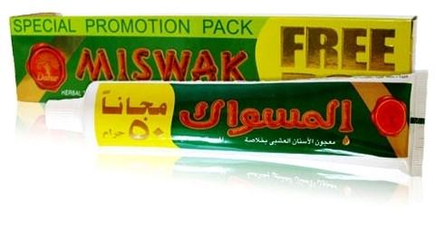 Зубная паста Мишвак, Дабур (Toothpaste Miswak, Dabur) 75 гр - 1