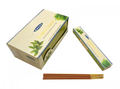 Благовония Premium White Sage (Satya) 15 грамм - 1