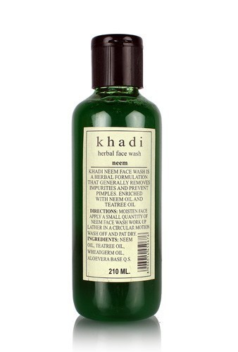 Гель для умывания Ним (Кхади, Khadi, Neem Herbal Face Wash), 210 мл. - 1