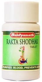 Ракташодак, Бадьянатх (Raktashodak, Baidyanath) 50 таб - 1