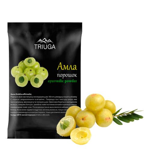 Амла чурна порошок, Триюга (Amla churna, Triuga) 50 грамм - 2