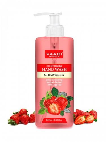 Гель для душа Клубника, Ваади (Blushing Strawberry Shower Gel, Vaadi) 300 мл - 1