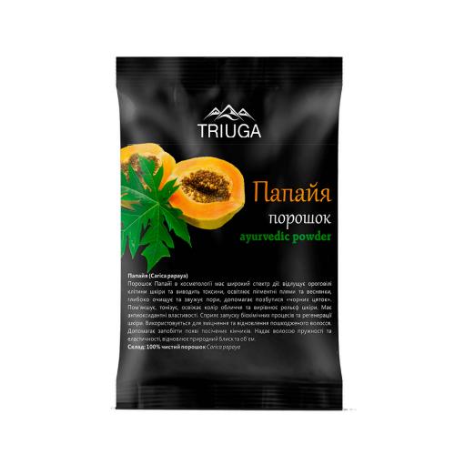 Папая порошок, Триюга (Carica papaya powder, Triuga) 50 грамм - 1