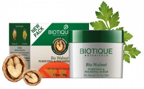 Био Грецкий Орех скраб (Bio Walnut, Biotique), 50 г - 1