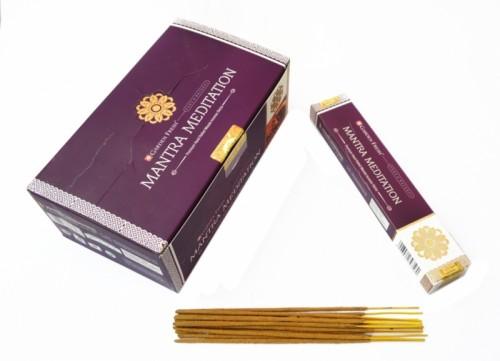 Благовония Garden Fresh Mantra Meditation 15 палочек в пачке. 15 грамм - 1