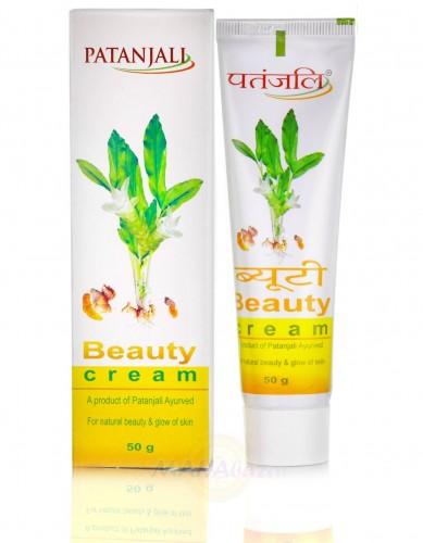 Крем Бьюти, для сияющей кожи лица, Патанджали (Beauty Cream, Patanjali) 50 g, - 1
