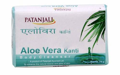 Мыло увлажняющее KANTI с алоевера (Patanjali), 150 гр - 1