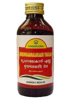 Брингамалакади тайл, Нагарджуна (Brihgaamalakadi thailam, Nagarjuna) 200 мл - 1
