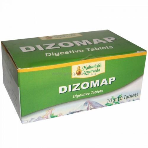 Дизомап блистер (Dizomap, Maharishi Ayurveda), 10 табл. - 1