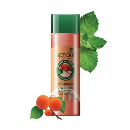Био Абрикос гель д/душа (Biotique, Bio apricot shower gel), 190 мл - 1
