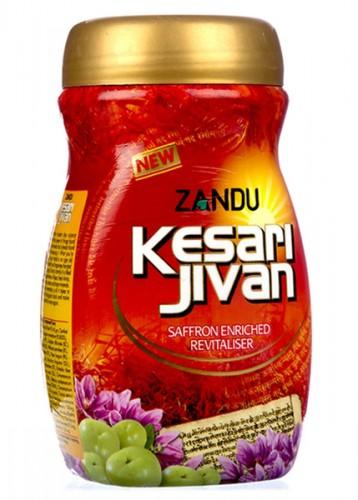 Чаванапраш Кесари Дживан, Занду, с большим содержанием шафрана (Kesari Jivan, Zandu) 500 грамм - 1