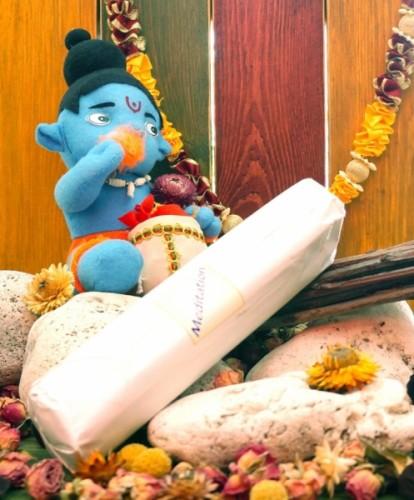 Благовония Meditation 250 грамм упаковка (Вриндаван) - 1